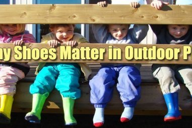 Why Shoes Matter in Outdoor Play