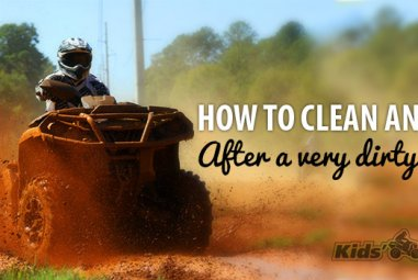 How to Clean an ATV after a very Dirty Ride