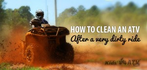 How to clean an ATV